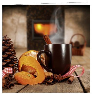 Weihnachtskarten Mit Duft.Ackermannkarten 15109 Zimtduft